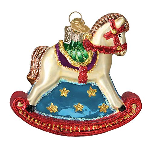 Old World Christmas Hanging Tree Ornament, Rocking Horse