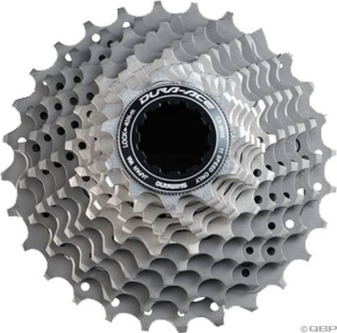 SHIMANO Dura Ace CS-9000 11-Speed Cassette (Grey, 11-28T) ()