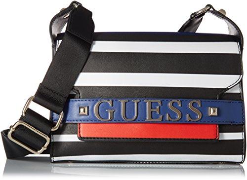 GUESS Felix Stripe Shoulder Bag, One Size