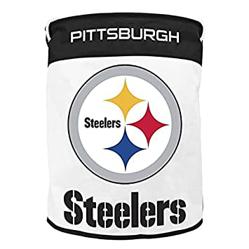 nfl pittsburgh steelers canvas laundry bag
