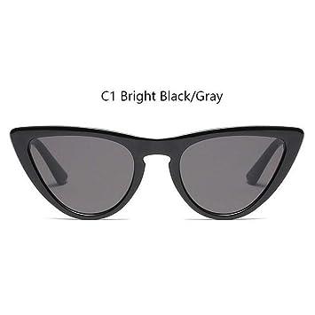 HYUHYU Vintage Cat Eye Sunglasses Mujeres Marca 90S Gafas ...