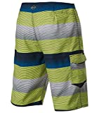 O'Neill Men's Catalina Stripe Boardshort, NYL - 34