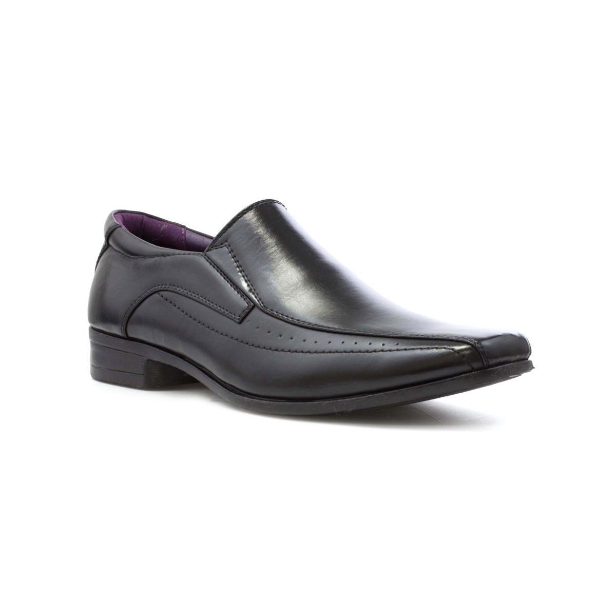 Men S 8 Us Shoe Size To Uk.Us Brass Mens Black Slip On Shoe Size 8 Uk Black Amazon
