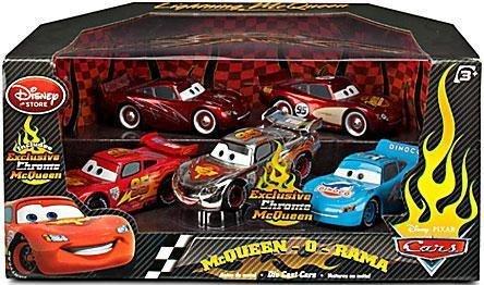 Disney Pixar Cars 2 Movie Exclusive 148 Die Cast denn 5 Pack mcqueenorama Cruisin, Rusteze, World Grand Prix, Dinoco, chrom by Disney