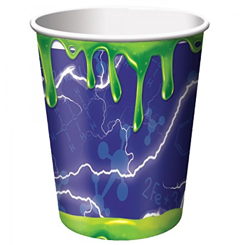 Mad Scientist 9oz. Paper Cups (8) -