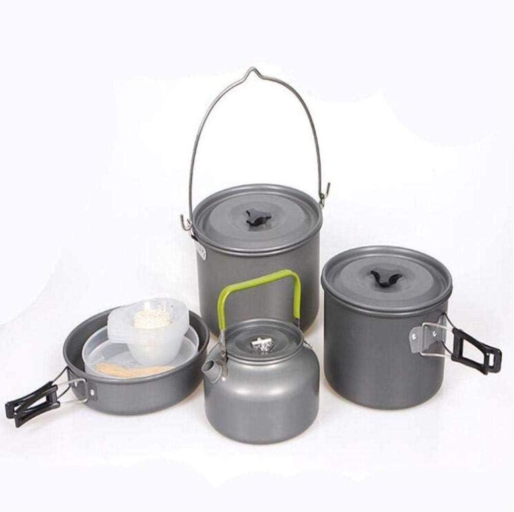 XHLLX Juego De Utensilios De Cocina para Camping Al Aire Libre.