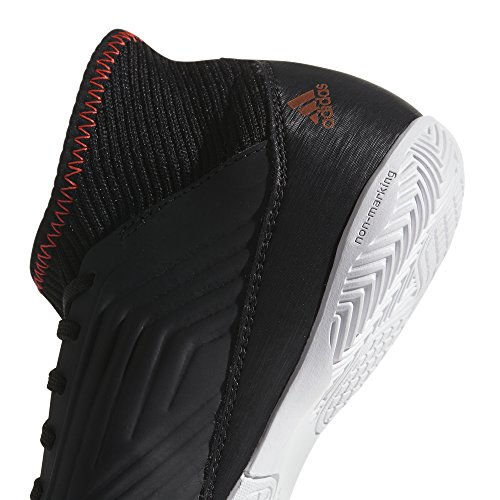 adidas Unisex-Kinder Predator Tango 18.3 in J Gymnastikschuhe Mehrfarbig (Core Black/ftwr White/solar Red)