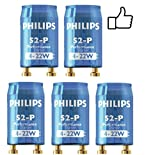 Philips S2 Electronic Fluorescent Lamp Tube / Light Bulb Ballast Starter (Pack of 5)