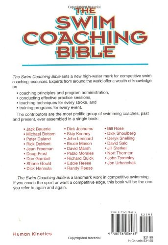 Workbook bible worksheets for middle school : The Swim Coaching Bible, Volume I (The Coaching Bible Series ...