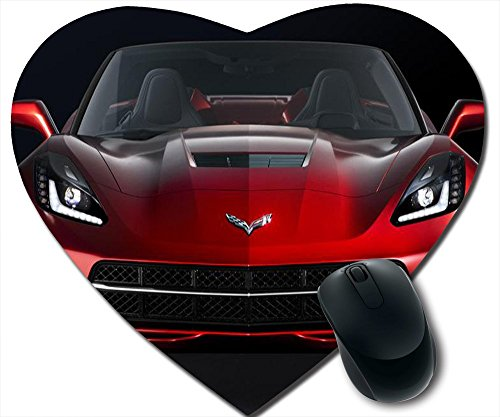customzed mheart-shape mousepad 2014 Corvette Stingray ad campaign by meizhou520shop ,car mheart-shape - Ray Ad