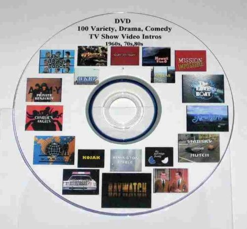 Themes Of The 70s (DVD of Video Intros to 100 Classic TV Show Themes 1960s, 70s, 80s.)