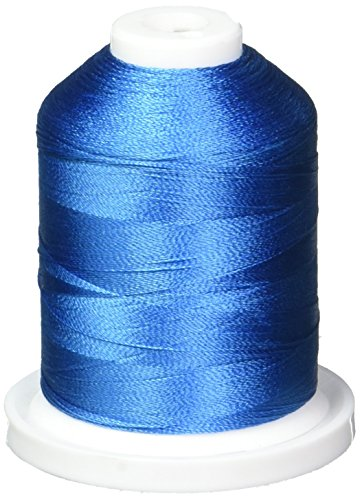 (Robison-Anton Rayon Super Strength Thread, 1100-Yard, Boo Boo Blue)