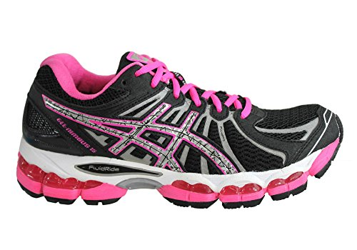 25 amp; Asics Gel Black US Size Hot 8 or 15 Shoes Running Show Womens Color Lite cm Pink Nimbus 16 16tqFrw6