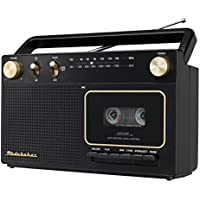 Studebaker Portable Retro Home Audio Stereo AM/FM Radio & Cassette Player/Recorder with Aux Input Jack & Built in Speakers (Limited Edition)