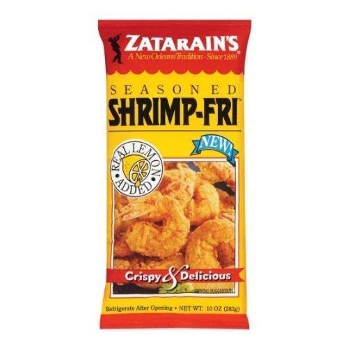 Zatarains New Orleans Style Seasoned Shrimp Fry Mix, 12 Ounce -- 12 per case. by Zatarain