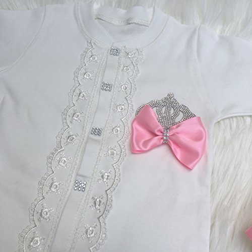 58a9c9d60a4cb Newborn girl Take home outfit.Baby girl coming home outfit.Baby girls first  outfit