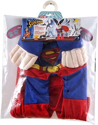Comics Superman Pet Costume Large