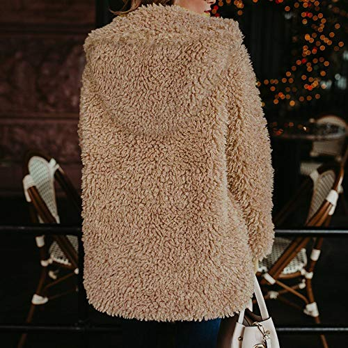 Jacket Fashion Parka Morwind Inverno Pelliccia Outercoat Piumino Caldo Artificiale Soprabito Outwear Khaki Cappotto Casual Donna In Giacca cwwpqCx87z