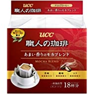 UCC craftsman of coffee drip coffee sweet aroma of mocha blend 18P