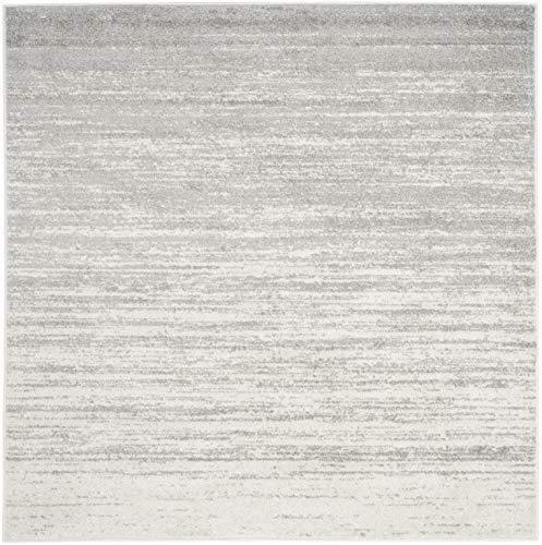 Safavieh ADR113B-9SQ Rug, 9' Square, Ivory/Silver ()