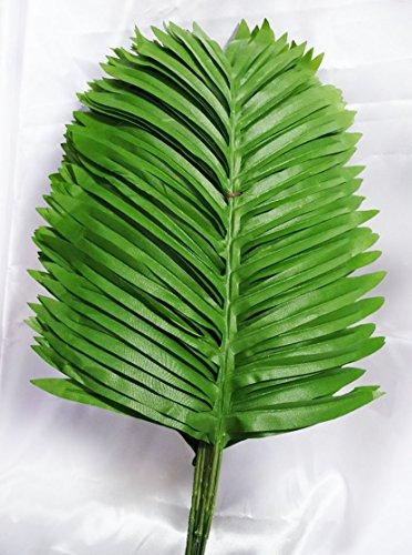 14 inch Artificial Single Leaf Palm Set 1 dozen