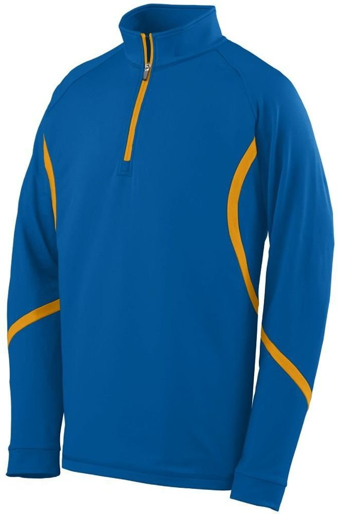 Augusta Sportswear 4760大人用Zealプルオーバー B00EZN83WK Medium|Royal/ Gold Royal/ Gold Medium