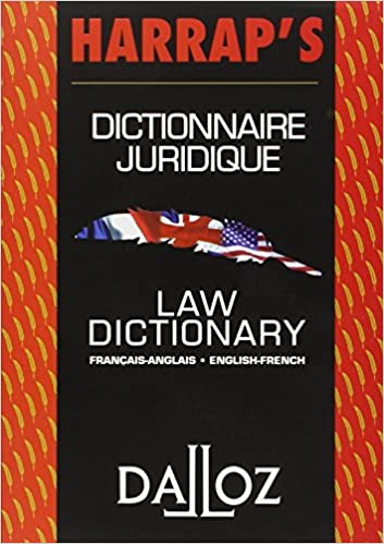 Amazon Fr Dictionnaire Juridique Francais Anglais Anglais Francais Law Dictionary French English English French Fauvarque Cosson B Livres
