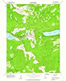 YellowMaps Norden CA topo map, 1:24000 Scale, 7.5 X 7.5 Minute, Historical, 1955, Updated 1961, 26.9 x 22 in - Tyvek