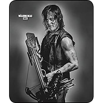 "outlet The Walking Dead Plush Fleece Daryl Dixon 45"" x 60"" Throw Blanket"