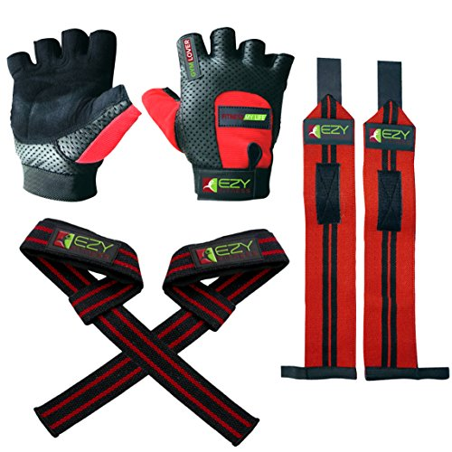 Weight Lifting Gloves Weightlifting Straps product image