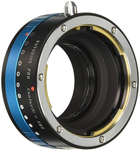 Fotodiox Pro Lens Mount Adapter w/Aperture Iris, Contax N Lens to Sony NEX E-mount Mirrorless Camera e.g. Alpha a7 & NEX-5