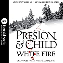White Fire: Booktrack Edition Audiobook by Douglas Preston, Lincoln Child Narrated by Rene Auberjonois