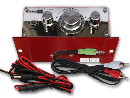 car mp3 player RED Model: EN4R DRALL INSTRUMENTS Mini power amplifier for Flats scooter motorcycle