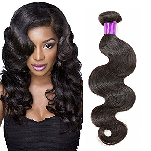 [Raw Unprocessed 100% Brazilian Virgin Hair Body Wave Human Hair Weave Hair Extension (24