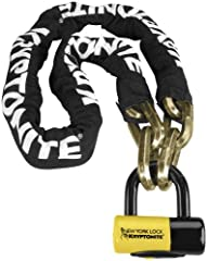 Kryptonite 5ft. Fahgettaboudit Chain and New York Disc Lock