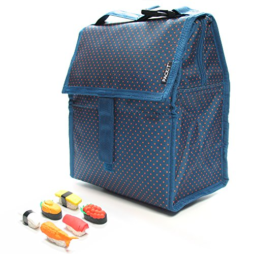 packit-personal-cooler-lunch-bag-micro-dots-with-sushi-eraser