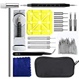 Watchband Link Remover Tool - E.Durable Watch Repair Kit, Watch Link Remover Kits, Watch Band Strap Link Pins Remove Links Repair Tool, 139 Pieces in Total