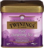 Twinings of London Darjeeling Loose Tea Tins, 3.53 Ounces (Pack of 6)