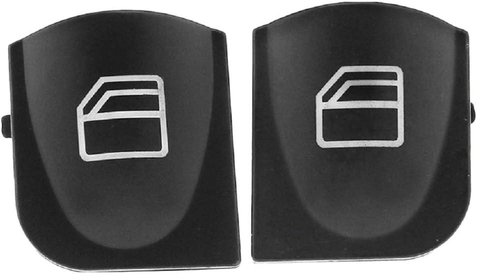H HILABEE Vorne Links Rechts Fensterheber Schalter Tasten Kappen Reparatur f/ür Mercedes-Benz W203 alle Modelle Auto