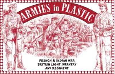 French & Indian War British Light Infantry Any Regiment 1/32 Armies In Plastic (Best Regiment In The British Army)
