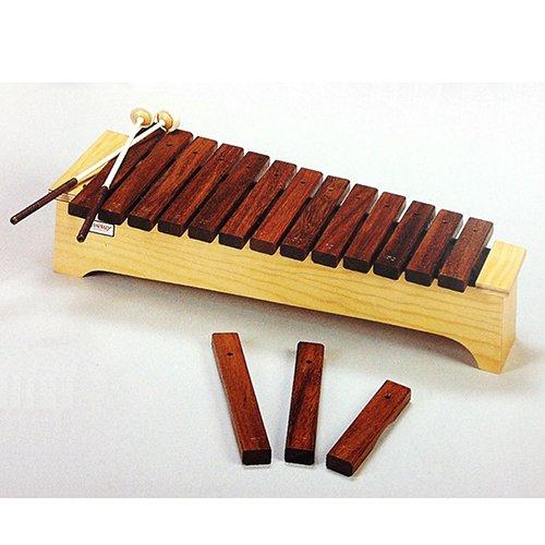 XILOFONO DIATONICO - Honsuy (Xilofono Soprano Diatonico) Do/La (Madera Sucupira de Brasil) (49080) T by Honsuy