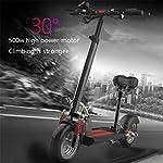 Scooter-elettrico-Monopattino-PieghevoleMotore-500W130Km-di-autonomiaFino-a-45kmh-3-modalit-di-velocit-Pneumatico-da-10con-Sedile