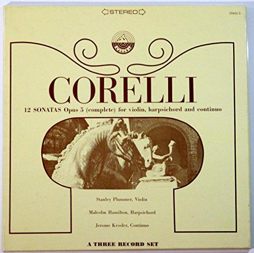 Sonatas Harpsichord Complete (Corelli: 12 Sonatas Opus 5 (Complete) for Violin, Harpsichord and Continuo)