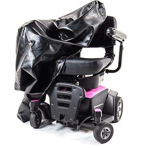 - Mobility Cover for Scooter or Powerchair - Heavy Duty Light Vinyl - Small Powerchair Size - CMC-320