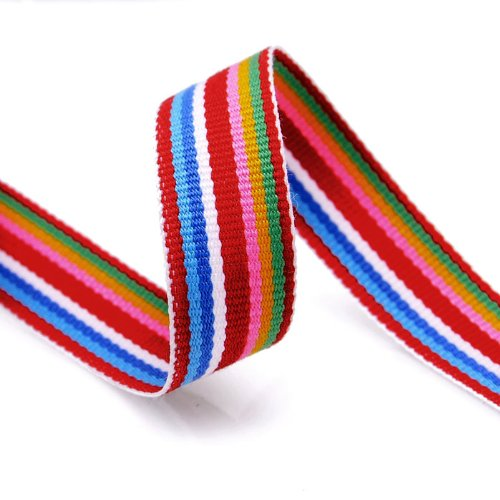 - Grosgrain Stripe Ribbon 5/8