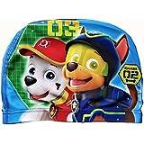 6be1b0114df5 Patte patrouille Cartoon Bonnet de bain Bonnet de bain en tissu pour enfant  2–10