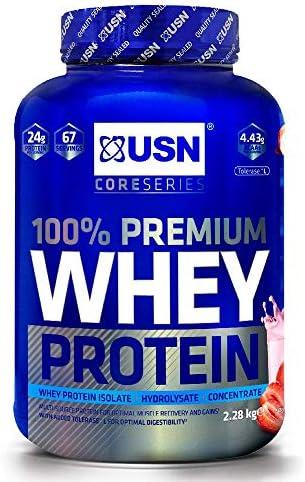 Usn Whey Protein Premium Strawberry 2280 g