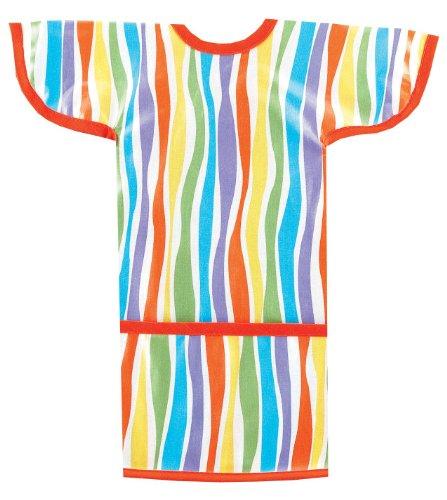 AM PM Kids! Sleeved Toddler Laminated Bib, ()