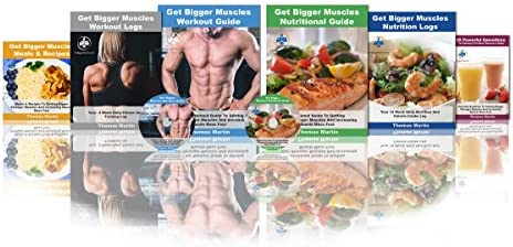 90 Day Muscle Building Course for Beginners. Weight Training & Weight Lifting. Learn How to Build Muscle Fast. Includes Muscle Cook Book, Dumbell Exercises & Logs. Build Muscle for Women & Men 1