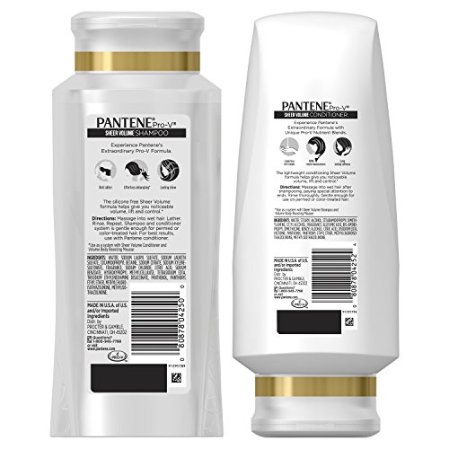 Buy silicone free shampoo and conditioner